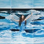 L·A·H·E Leah Angelo & Harald Ergott - angel by the sea, 180x270