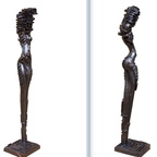 Labyrinth - Bronze Figur 1