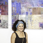 Liri Ben Dov and her paintings