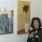 Ruth Friedman and her paintings