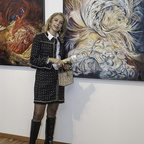 Mimi Ilouz and her paintings
