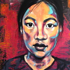 MIAPollauf - asian girl_acryl_900x900