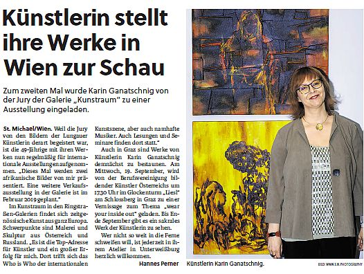 Screen Karin Ganatschnig in SN